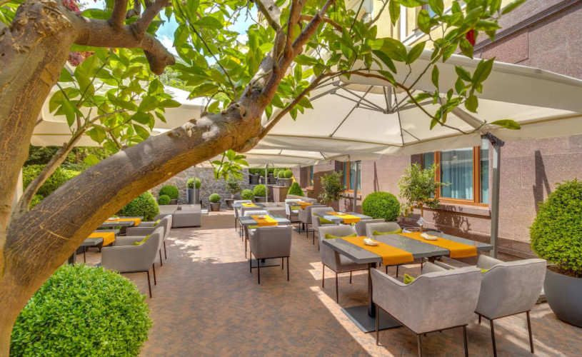 New in: summer terrace at Riviera House on Podil